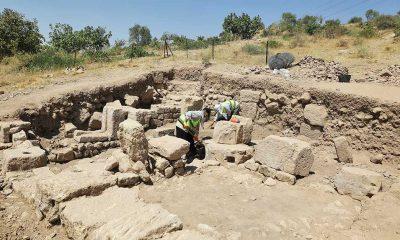 Antik kent Dülük'teki kazı çalışmaları devam ediyor