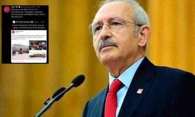 CHP'den AKP'ye tweet sildiren cevap: 'Utanın beceriksizler…'
