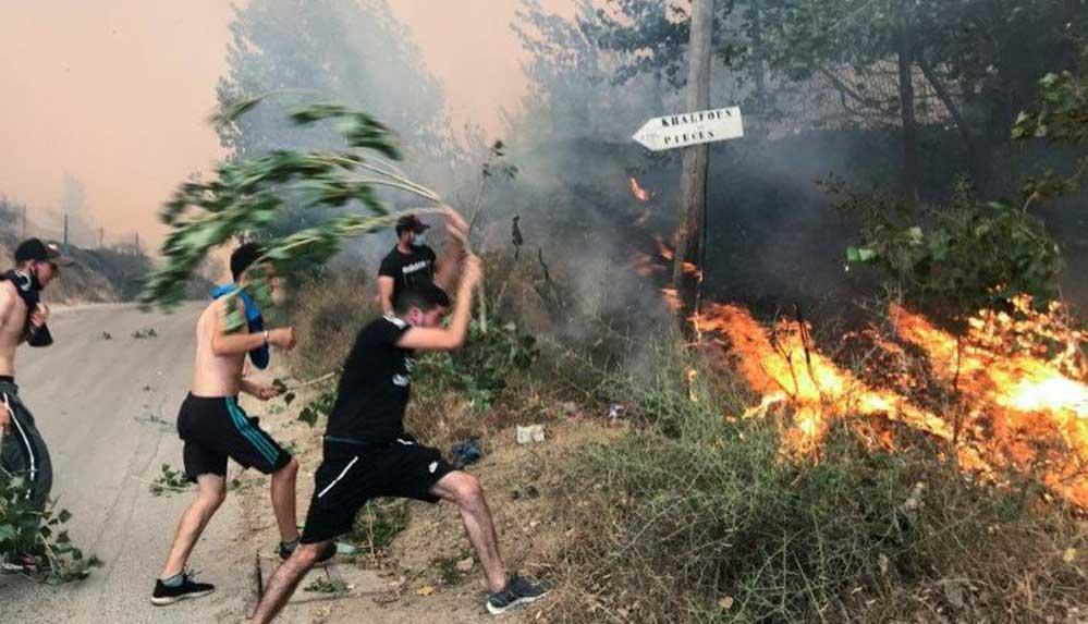 """Cezayir'den orman yaktığı iddiasıyla bir gencin öldürülmesi olayının """"örgüt"""" bağlantılı olduğu açıklandı"""