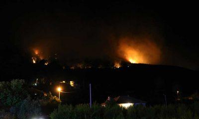 Burdur'da orman yangını: Bazı mahalle ve köyler boşaltıldı