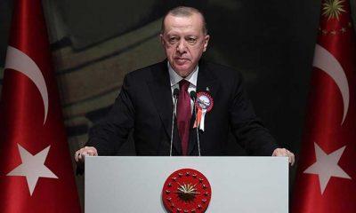 """Cumhurbaşkanı Erdoğan: FETÖ ihanet çetesi ile irtibatı olan yaklaşık 21 bin TSK mensubunun ordumuzla ilişiğini kestik"""""""