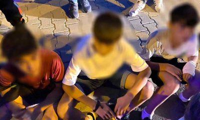 Diyarbakır'da 4 çocuk yangın çıkardıkları gerekçesiyle tutuklandı