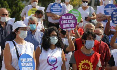 Edirne'den Ankara'ya yürüyen KESK'liler İstanbul'a ulaştı