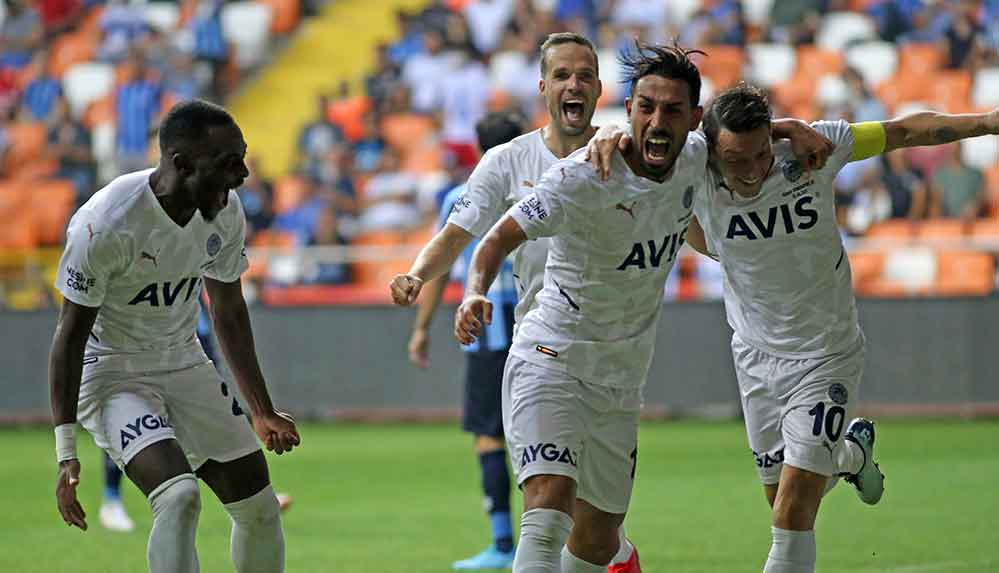 Fenerbahçe, Adana Demirspor deplasmanından 3 puanla dönüyor