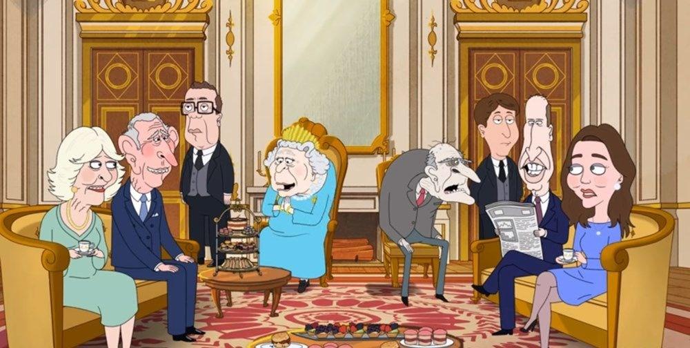 Prens Harry'nin tartışmalı animasyon diziye tepkisi