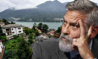 George Clooney'den sel felaketi sebebiyle zarar gören komşularına yardım eli