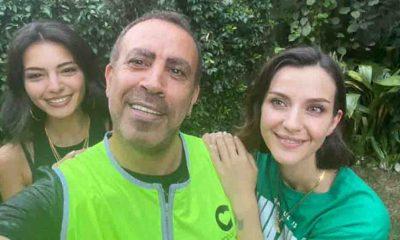 Haluk Levent'ten Melisa Aslı Pamuk ve İrem Helvacıoğlu paylaşımı: 'Onlar Haluk abilerinin melekleri'