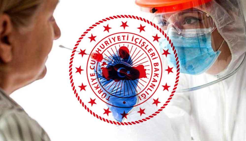 """İçişleri Bakanlığı'ndan """"PCR Testi Zorunluluğu"""" genelgesi"""
