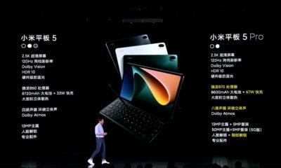 İpad'in yeni rakibi Xiaomi Mi Pad 5 tanıtıldı