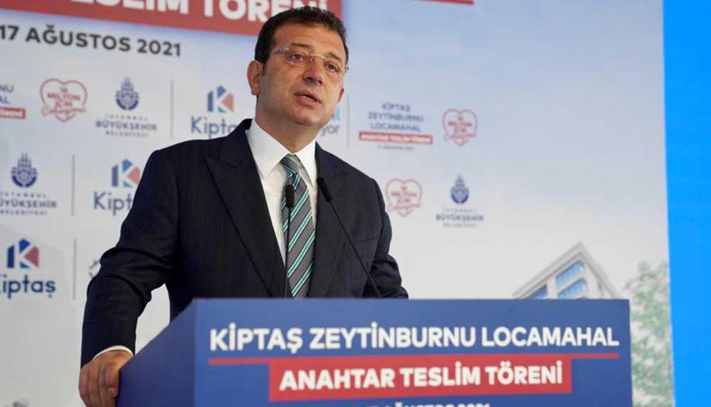 İmamoğlu: İstanbul'da her 3 binadan 1'i depreme dayanıksız