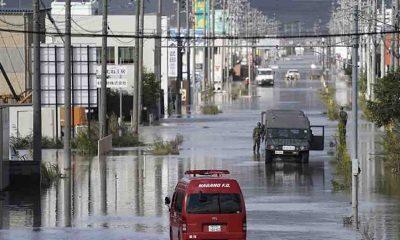 Japonya'da Mirinae ve Lupit tayfunlarına karşı uyarı yapıldı
