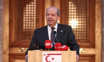 KKTC Cumhurbaşkanı Tatar üçlü görüşmenin ardından konuştu