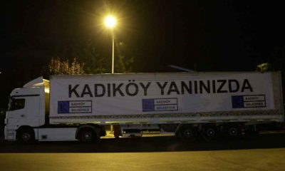 Kadıköy Belediyesi'nden sel felaketinden etkilenen Van'a yardım tırı