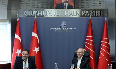 Kemal Kılıçdaroğlu, ekonomist Prof. Daron Acemoğlu ile görüştü