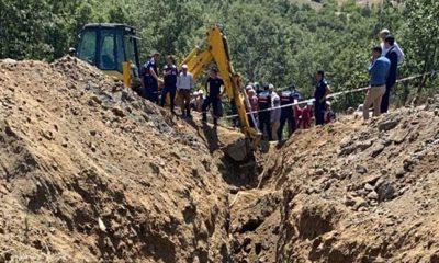 Manisa'da göçük! 2 kişi hayatını kaybetti