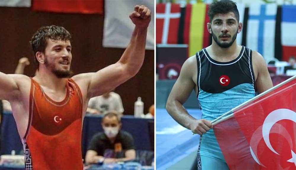 Dünya Gençler Güreş Şampiyonası'nda Polat Polatçı ve Muhammed Karavuş finale yükseldi
