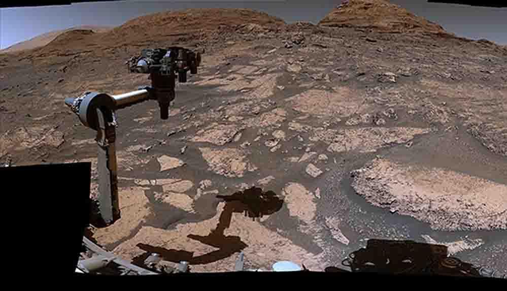 NASA, Mars'ın panoramik görüntülerini yayımladı