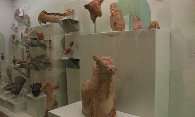 Niğde'de 4 höyükten çıkarılan tarihi eserler müzede sergilenmeye başlandı