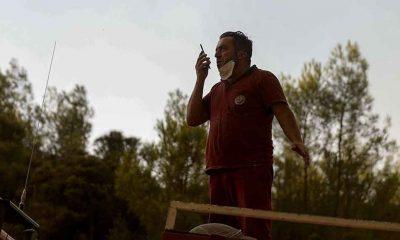 Orman işçisinin, 9 yaşındaki oğluyla telefon konuşması duygulandırdı