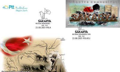 PTT'den 'Sakarya Meydan Muharebesi'nin 100. Yılı'na özel pul