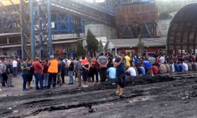 Soma'da 1500 madenci eylem başlattı