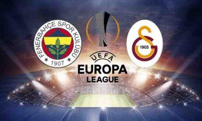 Son Dakika... UEFA Avrupa Ligi'nde Fenerbahçe ve Galatasaray'ın rakipleri belli oldu