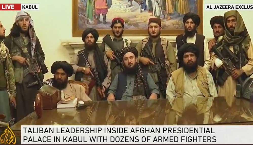 Taliban, Kabil'deki Cumhurbaşkanlığı Sarayı'nı ele geçirdi