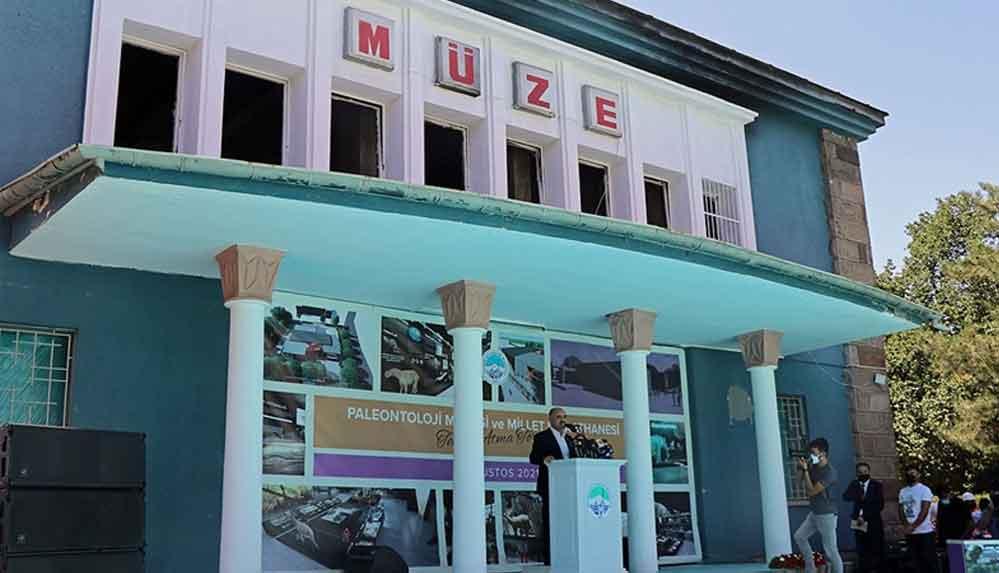 Türkiye'nin ilk Paleontoloji Müzesi'nin temeli Kayseri'de atıldı