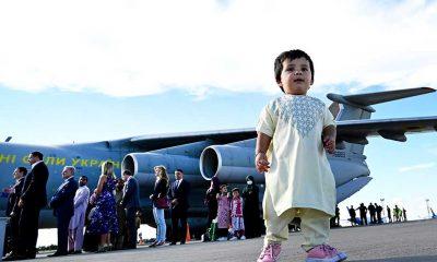 Ukrayna yaklaşık 360 kişiyi Afganistan'dan tahliye etti