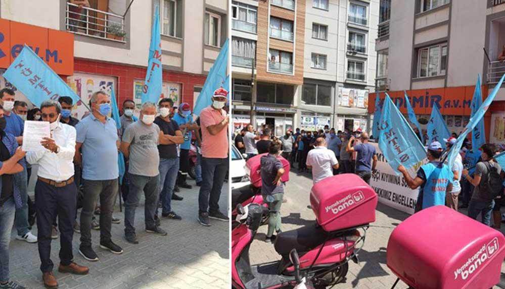 Yemeksepeti'nin Manisa'daki deposunda sendika üyesi 3 işçi işten atıldı