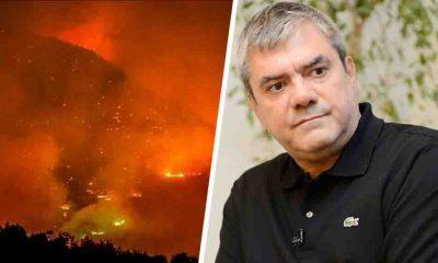"""Yılmaz Özdil yangın bölgesinden bildirdi: """"Böyle bir çaresizliğe şahit olmadım"""""""
