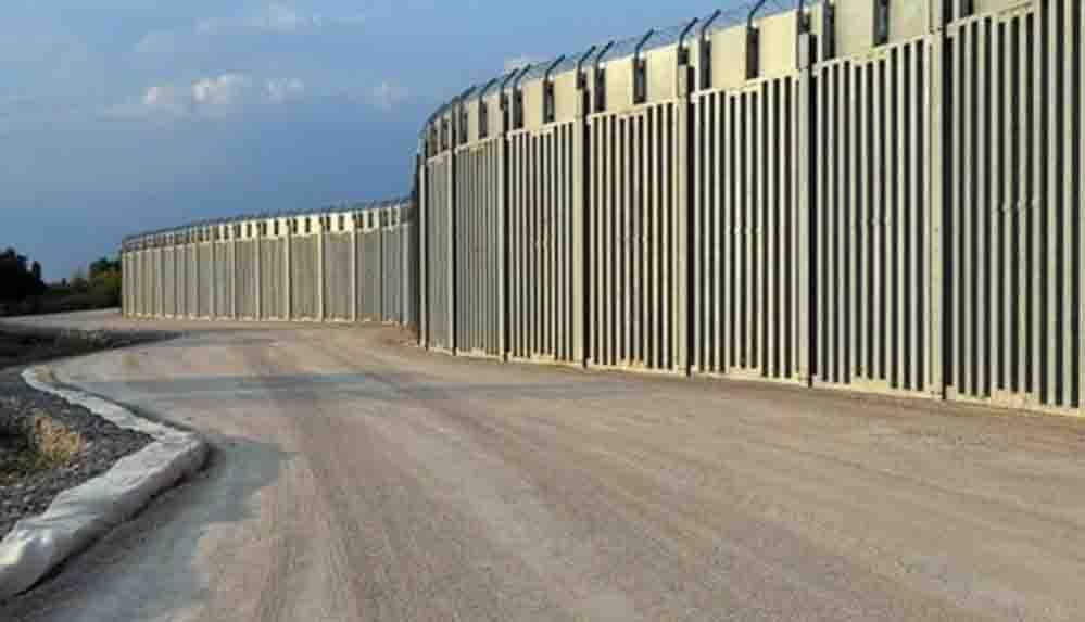Yunanistan, Türkiye sınırına 40 kilometrelik çelik duvar ördü