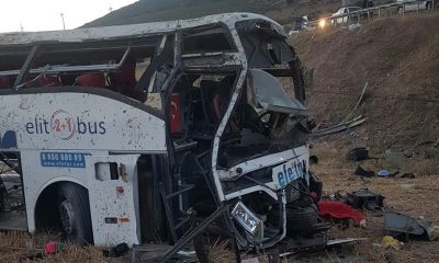 Balıkesir'de feci kaza! Yolcu otobüsü devrildi, 14 kişi öldü, 18 kişi yaralandı