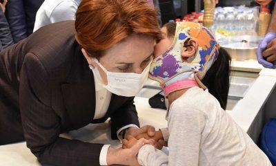 """Meral Akşener Erzurum'da: """"Bu kışı insanların sağlıklı bir şekilde geçirebilmesi için acil yardıma ihtiyaç var"""""""