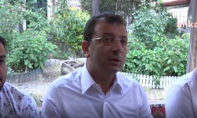 İBB Başkanı Ekrem İmamoğlu: İstanbul'un dere yataklarında yüzbinlerce nüfus yaşıyor