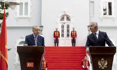 Cumhurbaşkanı Erdoğan: Türkiye, Karadağ'a en fazla yatırım yapan ilk 10 ülke arasında yer alıyor