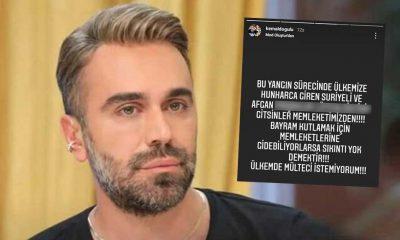 Kemal Doğulu'dan çok sert 'mülteci' tepkisi: Ülkemde mülteci istemiyorum