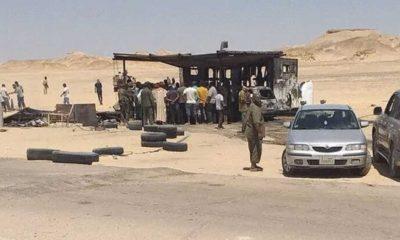 Libya'da bir kontrol noktasına intihar saldırısı düzenlendi