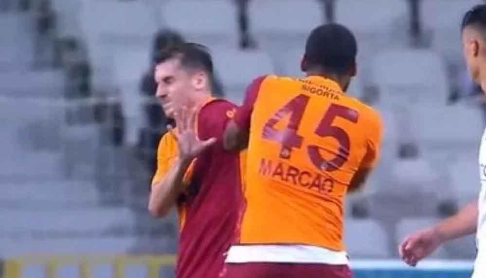 Galatasaray'da Marcao'nun cezası belli oldu!