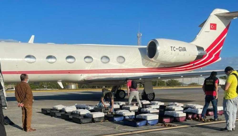 Brezilya'da 1,3 ton kokainle yakalanan uçak ile ilgili mahkeme devam ediyor