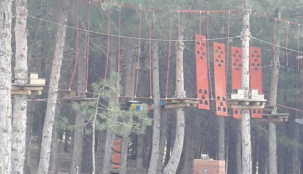 1 milyon 140 bin lira harcanan 'Macera Parkı' çürümeye terk edildi
