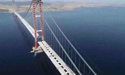 1915 Çanakkale Köprüsü'nün geçiş ücretini belli oldu
