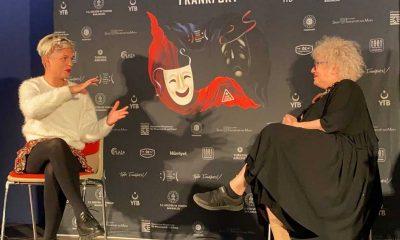 """Ayşenil Şamlıoğlu 7. Frankfurt Türk Tiyatro Festivali""""nde konuştu: """"Tiyatro aslında bilinçli şizofrenidir"""""""