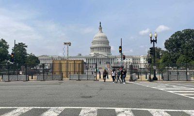 ABD Kongresi, aşırı sağcı grupların gösterisi nedeniyle tekrar demir çitle çevrildi