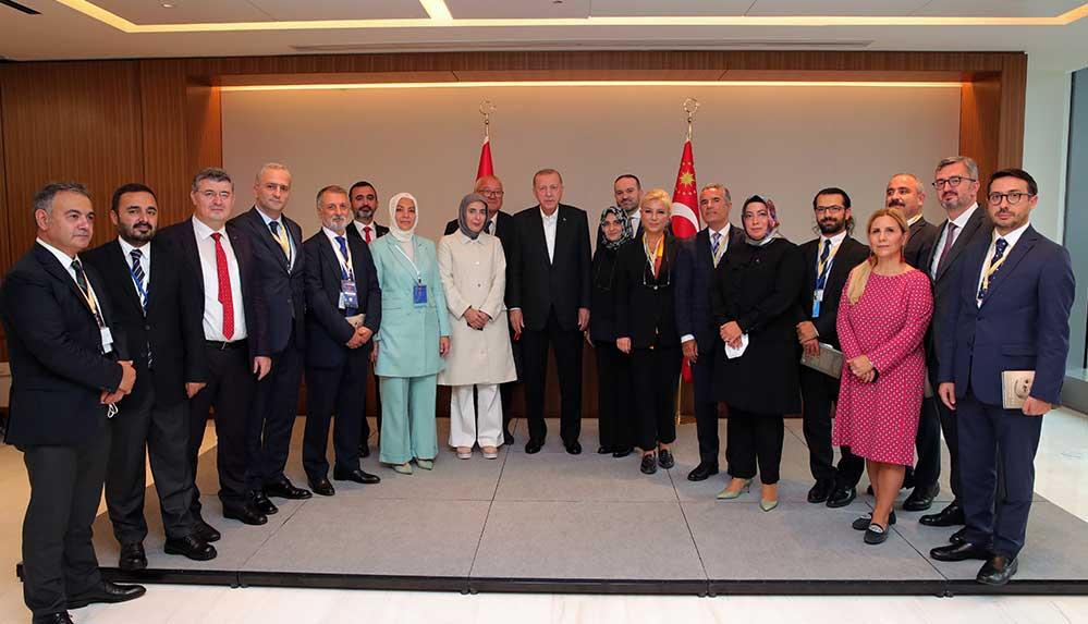 Cumhurbaşkanı Erdoğan ABD'de gazetecilerin sorularını yanıtladı