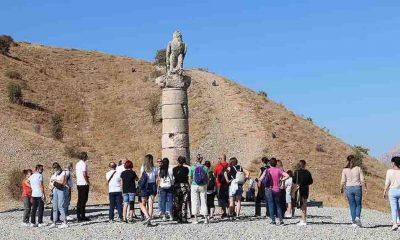 Adıyaman'daki Karakuş Tümülüsü'nde jeoradar çalışmalarının ikinci etabına başlandı