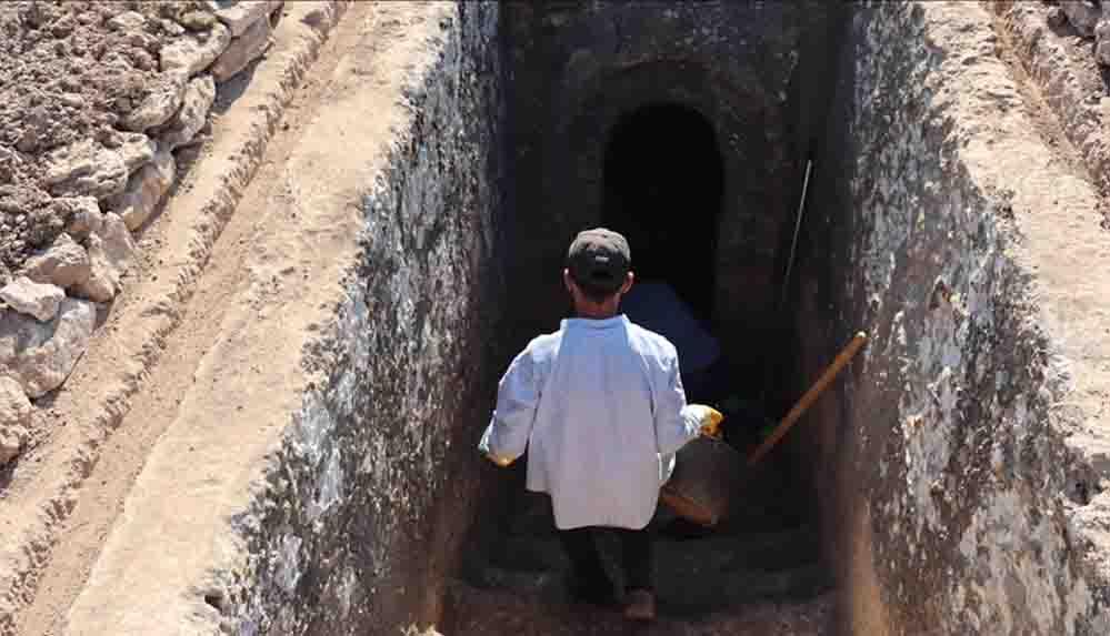 Adıyaman'daki Tharsa Antik Kenti'nde kazı ve temizlik çalışmaları başladı