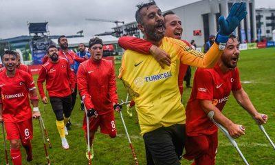 Ampute Futbol Milli Takımı, Avrupa Şampiyonası'nda finalde