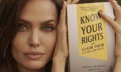 Angelina Jolie ve Af Örgütü'nden çocuk hakları kitabı