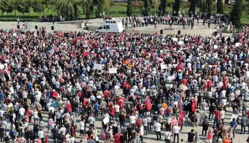 Aşı karşıtlarından Ankara'da yeni miting: 'DSÖ sorgulanacak!'